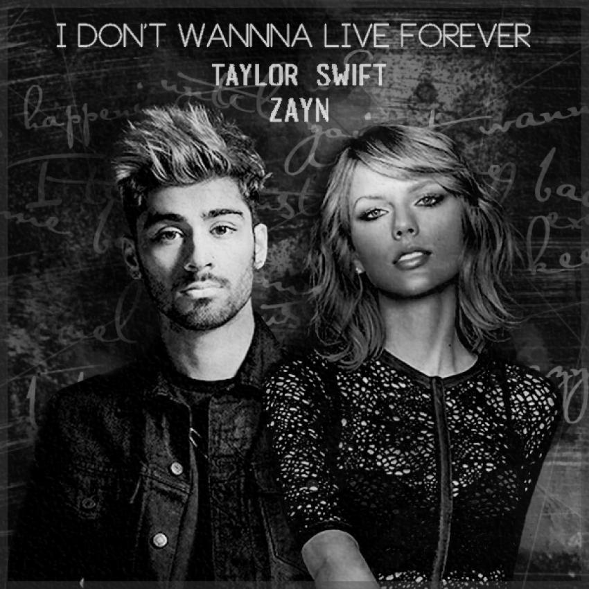 "Taylor Swift and Zayn ""I Don't Wanna Live Forever"" - Distract"