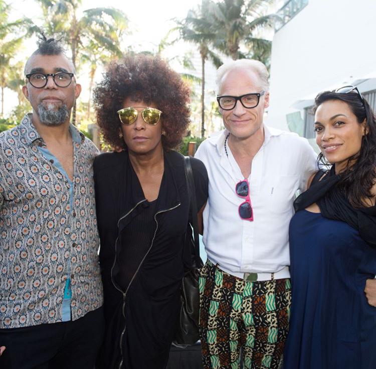 Rosario dawson_Art Basel Miami_Distract TV