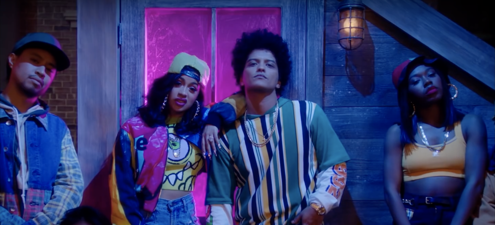 bruno-mars-cardi-b-finesse remix-90s style-in living color