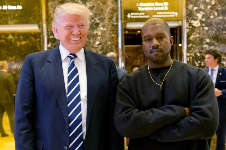 distract tv kanye west twitter trump controversial